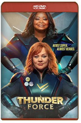 Thunder Force [2021] [DVDR BD] [Latino]