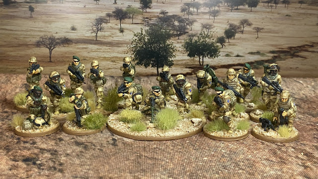 8mm modern French Foreign Legion for Mali and the Sahel from Eureka and JJG Print 3D