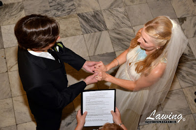 St Louis City Hall Elopement vows