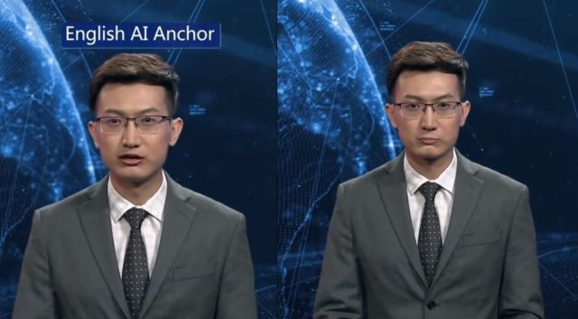 Be Aware! Xinhua's first English Artificial Intelligence Anchor makes debut!  Robots%2BArtificial%2BIntelligence%2B%25281%2529