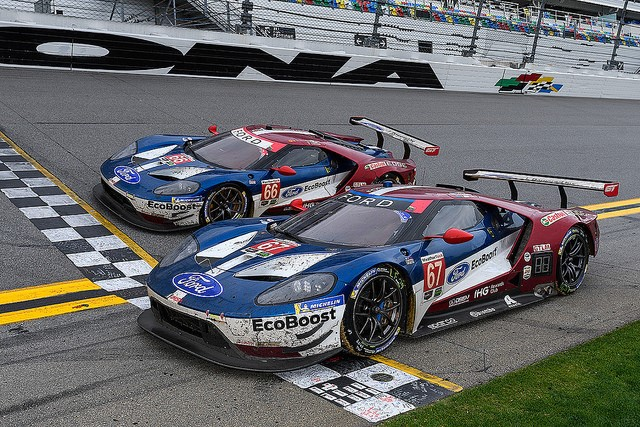 Ford Gt Wins Back To Back Rolex  Races  F F F   F F F