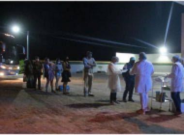 Ônibus vindo de SP traz 10 infectados por Covid-19 para Bahia; 9 foram para Nova Soure