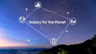 """سامسونج للإلكترونيات تعلن عن رؤية الاستدامة للأجهزة المحمولة تحت عنوان: """"جالاكسي من أجل الكوكب"""""""