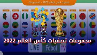 مجموعات تصفيات كأس العالم 2022 بقطر الخاصة بقارة افريقيا