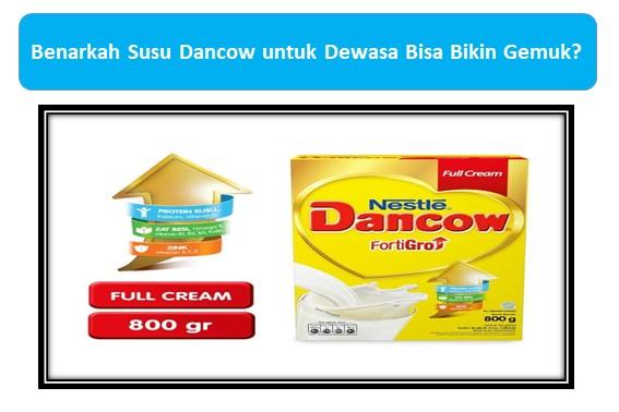 Susu Dancow Fortigo Enriched Full Cream