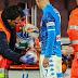 David Ospina, Napoli goalkeeper hospitalised after head injury