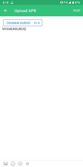 Cara Upload Apk Lewat Aplikasi Apkpure