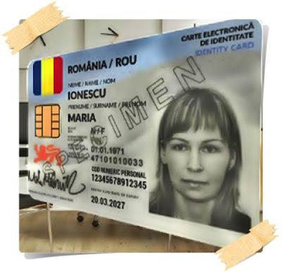 buletinele cu cip si date biometrice obligatorii daca calatoresti in strainatate