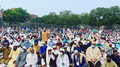Sholat  Idul Adha 100 Ribu Jamaah di New York? Ah, Yang Benar!?