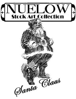 NUELOW Stock ARt: Santa Claus cover