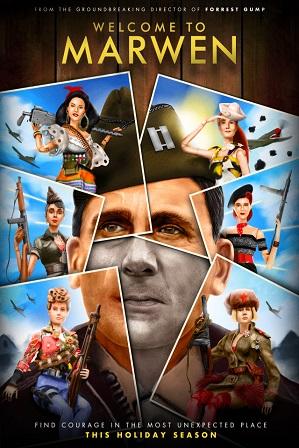 Welcome to Marwen (2018) Full Hindi Dual Audio Movie Download 480p 720p Bluray
