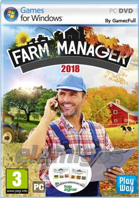 Descargar Farm Manager 2018 pc full español mega y google drive.