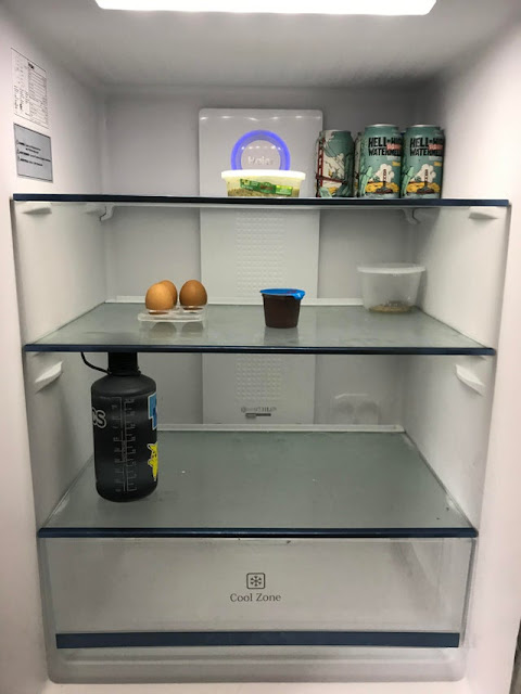 Today I opened my 29 year old boyfriend's fridge. This is consistently what his fridge looks like. I fear for males everywhere. We must help them, but can they be helped??