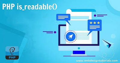 PHP is_readable() Function