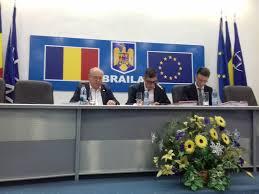 PROIECT AL  ORDINII DE ZI a sedintei extraordinare a Consiliului Judetean Braila