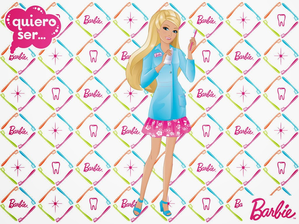 Cute Chef Wallpaper Barbie Super Girl I Can Be Anything I Can Be Barbie