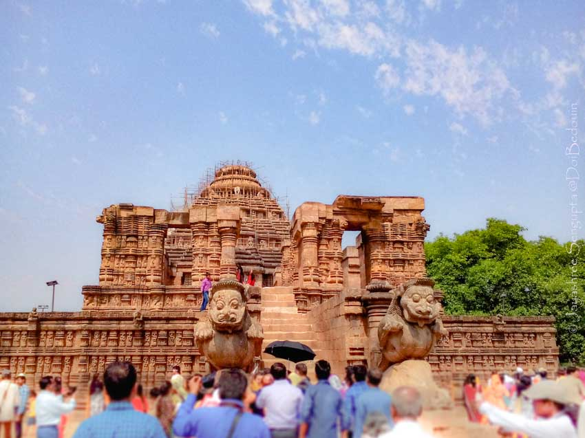 Konark Sun Temple Odisha doibedouin