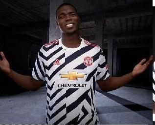Manchester United Unveils Kits