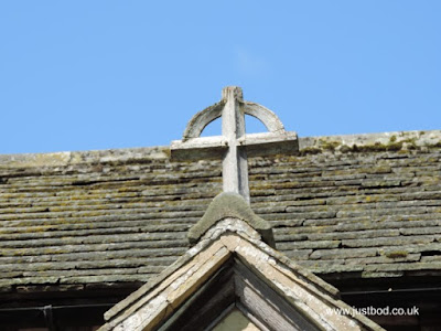 Simple Wooden Cross, St Hildas, Ellerburn