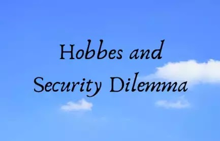 Hobbes and the Security Dilemma