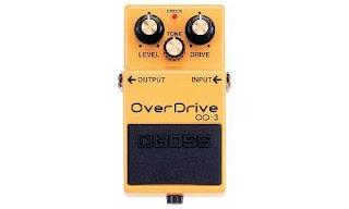 8. Efek Gitar Boss Overdrive