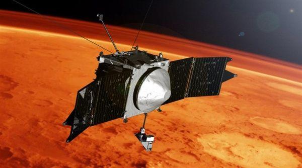 La NASA descubre átomos de metal en la atmósfera de Marte