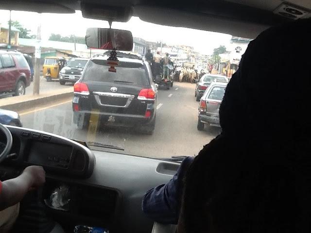 Fulani Herdsmen Block Rochas Okorocha's Convoy In Imo(photos)