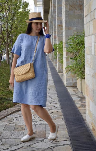 платье из натуральных тканей