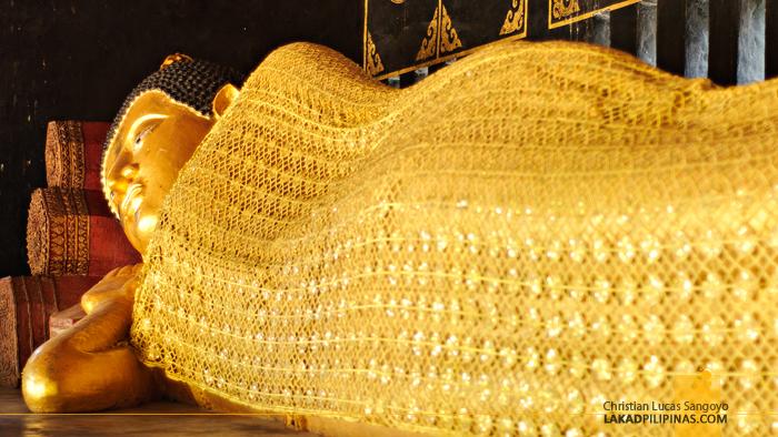 Reclining Buddha at Wat Chedi Luang Chiang Mai