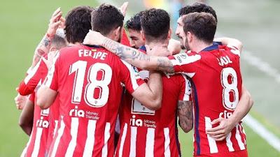 ملخص واهداف مباراة اتلتيكو مدريد وقادش (4-2) الدوري الاسباني