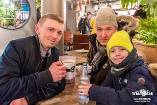 Arkadij, Engel und Maxim in Dänemark. www.WELTREISE.tv