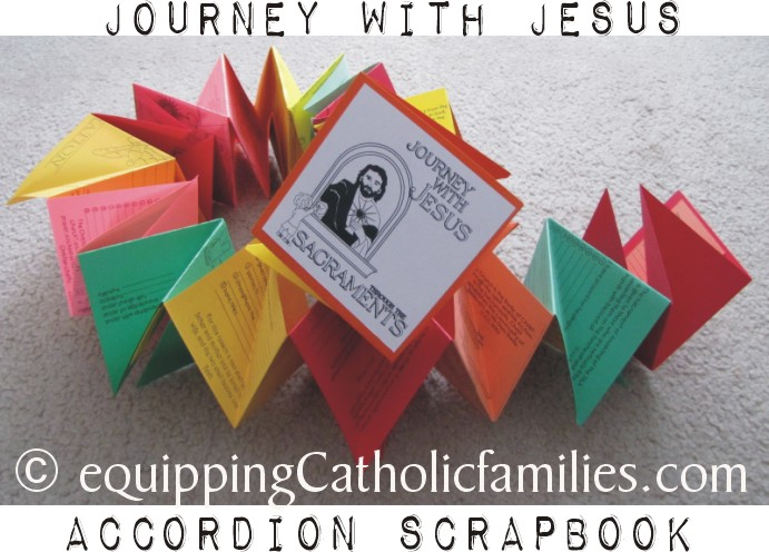 Scrapbook The Sacraments Equipping Catholic Families