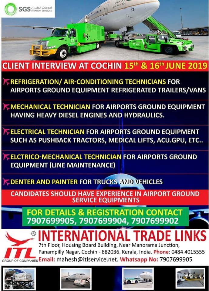 GULF JOBS NEWSPAPER ADVERTISEMENT 6-6-2019 PART 1 – GCC JOBS FOR YOU