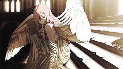 Angel Anime Girl Desktop Wallpaper Full HD