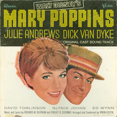 Va Mary Poppins (Original Cast Sound Track) LP 1964