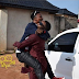 Bovi lifts I go Dye with excitement as they reunite in Benin [photo]