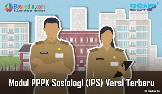Modul PPPK Sosiologi (IPS) Versi Terbaru