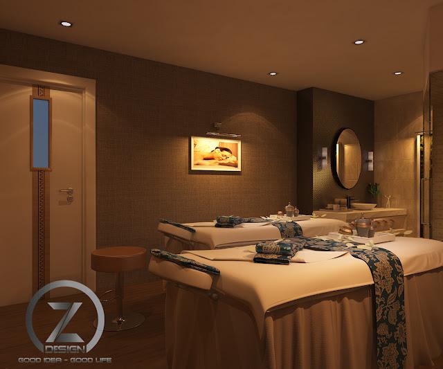 Thiết kế phòng massage đúng tiêu chuẩn