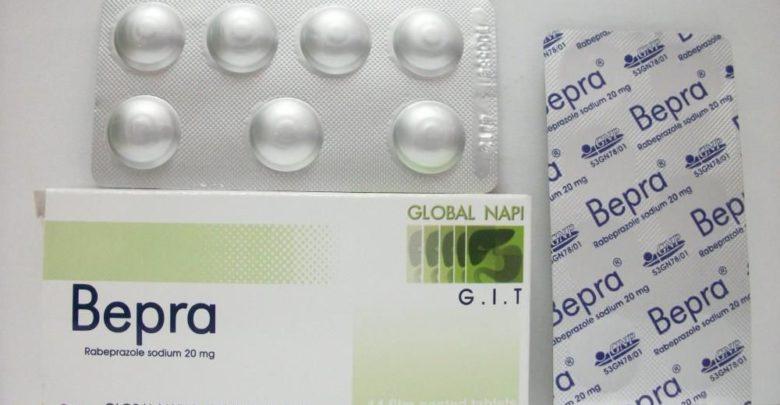سعر أقراص بيبرا Bepra لعلاج قرحة المعدة