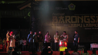 pembukaan festival barongsai kabupaten karimun oleh gubernur kepulauan riau