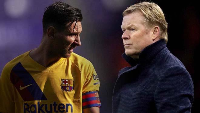 HLV Koeman làm thế nào để Messi ở lại: Học cách Sir Alex giữ chân Ronaldo 2008?