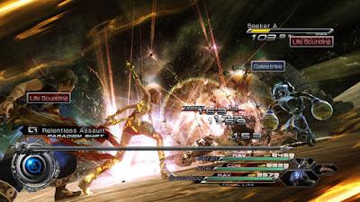 Final Fantasy XIII-2 Battle Scene