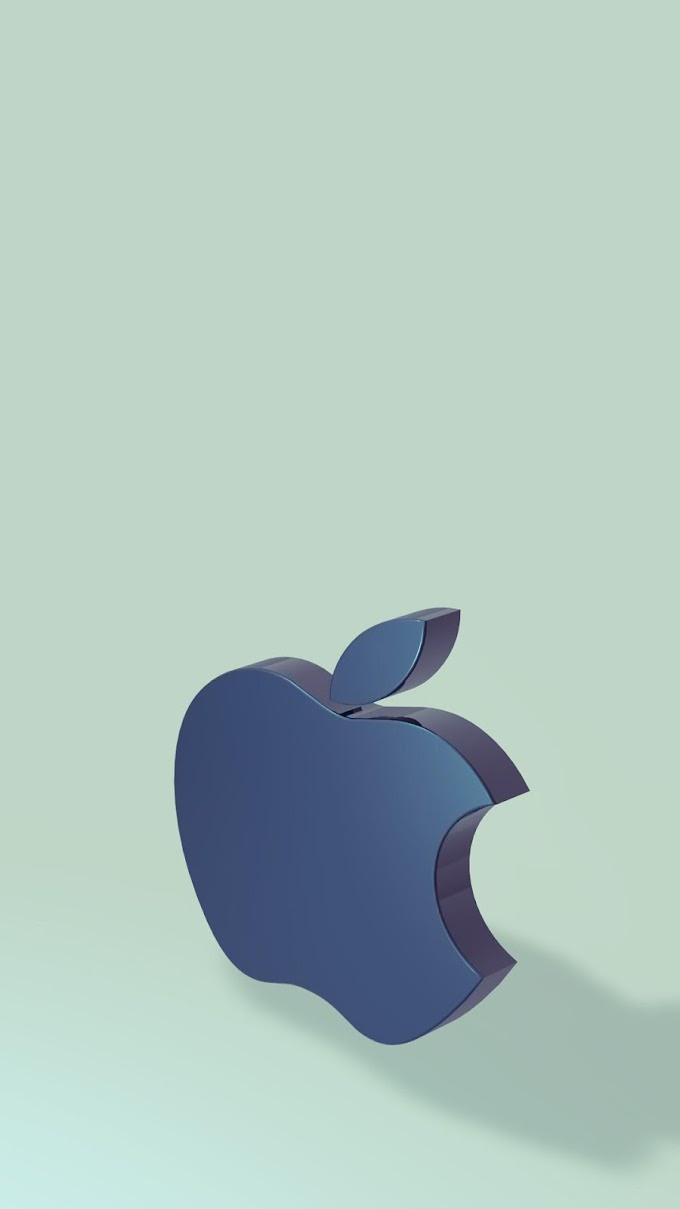 Wallpaper iPhone 6 3D Apple MAC