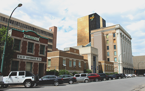 Downtown Regina Saskatchewan