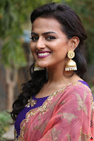 Actress Shraddha Srinath in Purple Chania Choli Cute Pics ~  Exclusive 17.jpg
