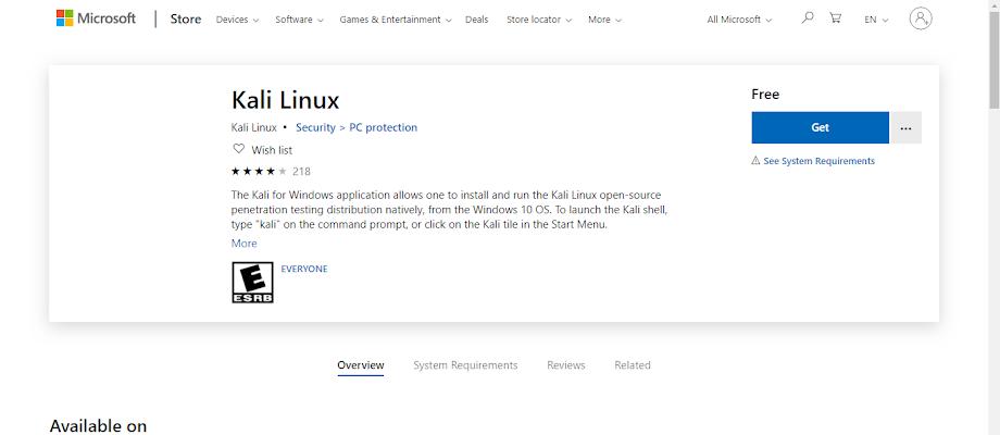 Cara Install Kali Linux Di Windows 10 Terbaru