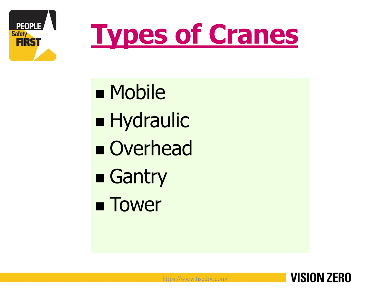 PPT] Mobile Crane Safety Training Material