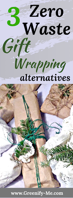 Zero Waste Gift Wrapping Alternatives