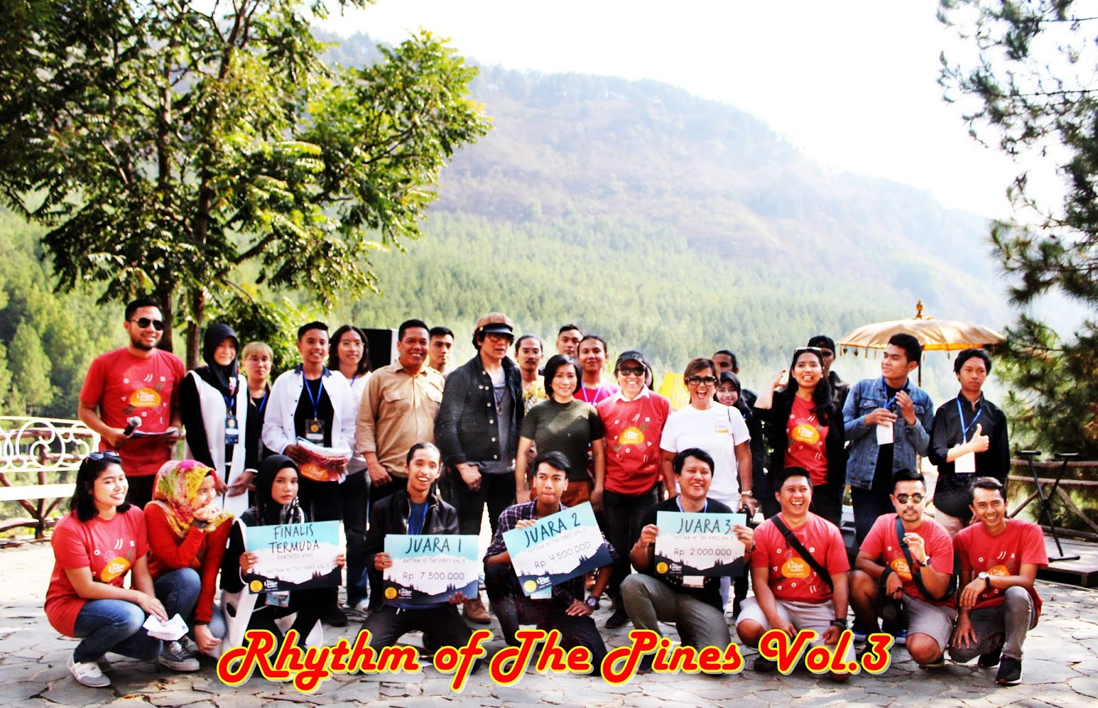 Rhythm of The Pines vol III The Lodge Maribaya