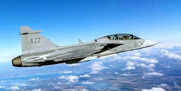 Saab tests 3D-printed part on Gripen